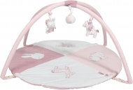 Tiamo Nijntje Safari Pink Speelkleed Met Boog