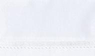 Cottonbaby Wieglaken Broderie Klein Wit 75 x 90 cm