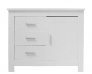 Bopita Commode 3 Laden 1 Deur Cobi White