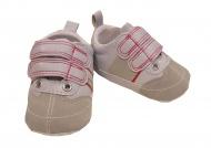 XQ Little Shoes Sportschoen Wit/Grijs/Roze