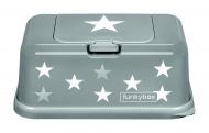 Funkybox Grijs Met Zilveren Sterretjes