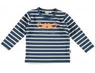 Babylook T-Shirt Stripes Dark Denim
