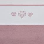 Meyco Laken Geometric Heart Roze 75 x 100 cm