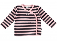 Babylook T-Shirt Stripes Total Eclipse