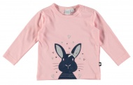 Babylook T-Shirt Bunny Coral Blush