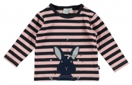 Babylook T-Shirt Bunny Stripes