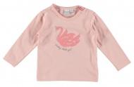 Babylook T-Shirt Swan Peachskin