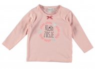 Babylook T-Shirt Zusje Old Pink