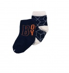 Babylook Sok 2-Pack Boy/Graphic