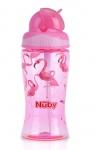 Nuby Flip-It Beker Flamingo 360ml
