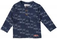 Dirkje T-Shirt Skateboard Navy