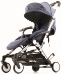 Kekk K2 Go Plus Buggy Chrome Blauw Denim