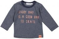 Dirkje T-Shirt Day Stripe Navy