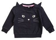 Beebielove Trui Cat Anthracite