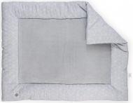 Jollein Boxkleed Graphic grey  80 x 100 cm