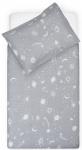 Dekbedovertrek Galaxy grey 100 x 140 cm