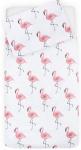 Jollein Dekbedovertrek Flamingo 120x150 cm