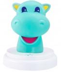 Alecto Silly Hippo Led Nachtlampje