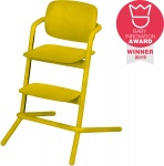 Cybex Lemo Highchair Wood Canary Yellow
