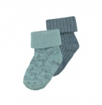 Noppies Sokjes 2-Pack Thornton Grey Mint