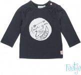 Feetje T-Shirt Moon Antraciet / Roze