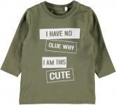 Name It T-Shirt Napin Burnt Olive