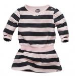 Z8 Jurk Naomi Stripe Soft Pink