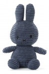 Nijntje - Miffy Corduroy Blauw 24cm