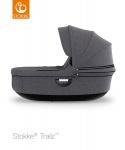 Stokke® Trailz Carry Cot Black Melange (Black Plastics)