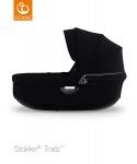 Stokke® Trailz Carry Cot Black (Black Plastics)