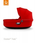 Stokke® Trailz Carry Cot Red (Black Plastics)