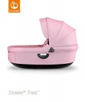 Stokke® Trailz Carry Cot Lotus Pink (Black Plastics)