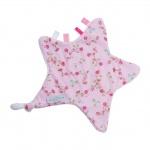 Little Dutch Knuffeldoekje Ster Pink Blossom
