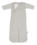Snoozebaby Sleepsuit Four Seasons Bird Light Grey 3-9mnd