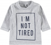 Name It T-Shirt Giman Grey Melee