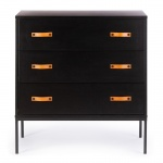 Commode 3 Laden Bliss Black
