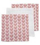 Meyco Monddoekjes Knitted Heart 3Pack
