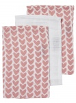 Meyco Washandjes Knitted Heart 3Pack