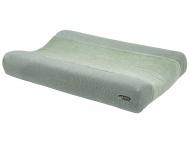 Meyco Waskussenhoes Knit Basic Deluxe Stone Green
