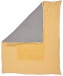 Koeka Boxkleed Stockholm  Ochre/Steelgrey  75 x 95 cm