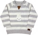 Nijntje/Miffy Sweatshirt Streep Grijs