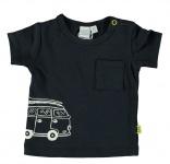 Babylook T-Shirt Korte Mouw Navy