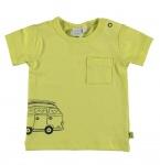 Babylook T-Shirt Korte Mouw Wild Lime