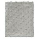 Cottonbaby Wiegdeken Dot 3D Melee Grijs75 x 90 cm