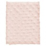 Cottonbaby Wiegdeken Dot 3D Melee Roze75 x 90 cm
