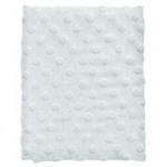 Cottonbaby Wiegdeken Dot 3D Melee Lichtblauw75 x 90 cm