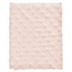 Cottonbaby Ledikantdeken Dot 3D Melee Roze120 x 150 cm