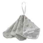 Cottonbaby Speendoekje Dot 3D Melee Grijs