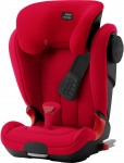 Römer Kidfix II XP SICT Fire Red Black Serie
