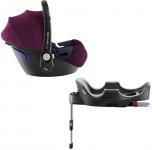 Römer Baby-Safe2 i-Size Burgundy Red inclusief Flex Base